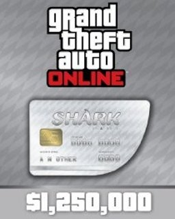 <![CDATA[Grand Theft Auto V Online Great White Shark Cash Card 1,250,000$ GTA 5 (DIGITAL)]]> - náhled